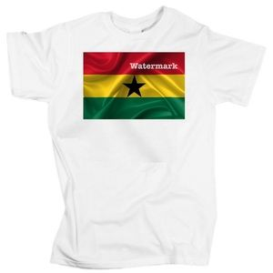 Flag of Ghana unisex t-shirt